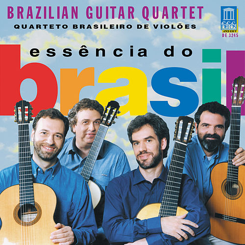 VILLA-LOBOS, H.: Bachianas brasileiras No. 1 / GUARNIERI, C.: Danca Negra / GOMES, C.: Sonata in D major (Brazilian Guitar Quartet) by Brazilian Guitar Quartet