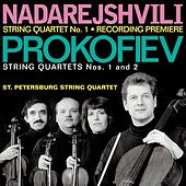 NADAREJSHVILI, Z.: String Quartet No. 1 / PROKOFIEV, S.: String Quartets Nos. 1 and 2 (St. Petersburg String Quartet) by St. Petersburg String Quartet