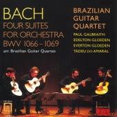BACH, J.S.: Overture (Suite) Nos. 1-4 (arr. for guitar quartet) (Brazilian Guitar Quartet) by Brazilian Guitar Quartet