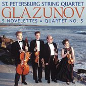 GLAZUNOV, A.: 5 Novelettes / String Quartet No. 5 (St. Petersburg String Quartet) by St. Petersburg String Quartet