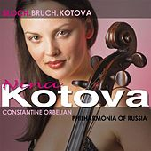 BLOCH, E.: Prayer / Schelomo / KOTOVA, N.: Cello Concerto / BRUCH, M.: Kol nidrei (Kotova, Russian Philharmonia, Orbelian) by Nina Kotova