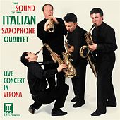READE, P.: Saxophone Quartet / FRANCAIX, J.: Petit quatuor / NAGLE, P.: Three Shades of Blues / NYMAN, M.: Songs for Tony (Italian Saxophone Quartet) von Italian Saxophone Quartet