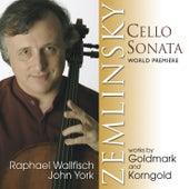 Zemlinsky, Goldmark & Korngold: Music for Cello and Piano by John York