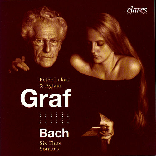 Bach: Six Flute Sonatas by Aglaia Graf