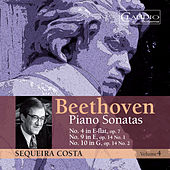 Beethoven: Piano Sonatas Vol. 4 by Sequeira Costa