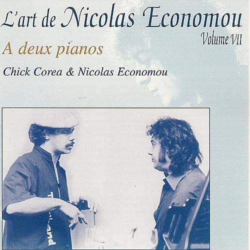 Bartók, Corea, Economou : 'On two pianos' - L'art de Nicolas Economou, volume 7 by Nicolas Economou