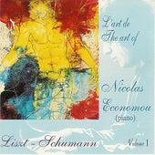 Liszt & Shumann : L'Art de Nicolas Economou, volume 1 by Nicolas Economou