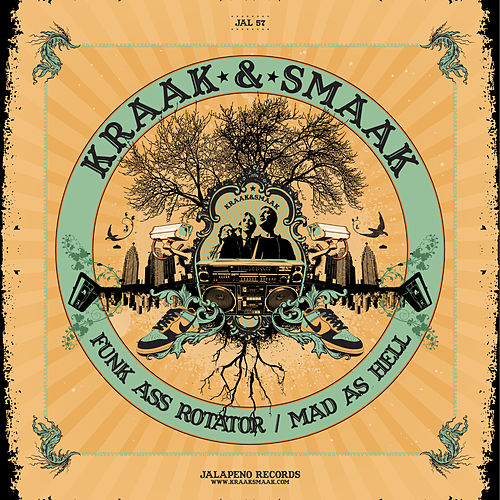 Funk Ass Rotator - EP by Kraak & Smaak
