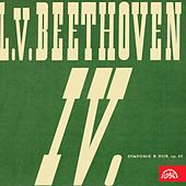 Beethoven:  Symphony No. 4 in B-Flat Major, The King Stephan, Overture, Op. 117 by Czech Philharmonic Orchestra