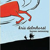 Horses Swimming by Kris Delmhorst