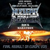 Live in Dunaujvaros, Hungary by Nuclear Assault
