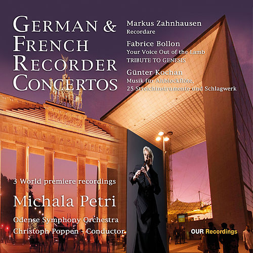 German & French Recorder Concertos by Michala Petri