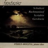 Schubert / Rachmaninof / Scriabin / Gershwin: Fantasies per a Piano Duet by Maria