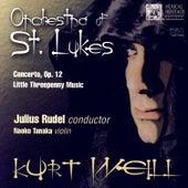 Kurt Weill: Concerto, Op. 12 - Little Threepenny Music by Naoko Tanaka
