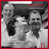 Beethoven: String Trio in E-Flat Major, Op. 3 & Serenade for String Trio in D Major, Op. 8 by TrioFenix