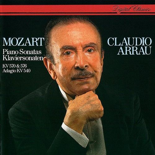 Mozart: Piano Sonatas Nos. 17 & 18. von <b>Claudio Arrau</b> - 500x500