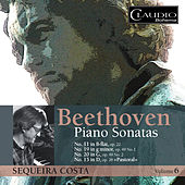 Beethoven: Piano Sonatas, Vol. 6 by Sequeira Costa