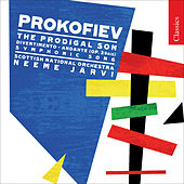 PROKOFIEV, S.: Prodigal Son (The) / Andante / Divertissement (Royal Scottish National Orchestra, N. Jarvi) by Neeme Jarvi