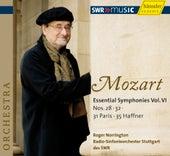 Mozart: Symphonies No. 28, 31, 32, 35 by Radio-Sinfonieorchester Stuttgart des SWR