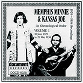 Memphis Minnie & Kansas Joe Vol. 1 (1929-1930) by Memphis Minnie