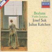 Brahms: Violin Sonatas Nos.1-3 by Josef Suk