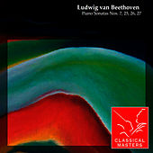 Piano Sonatas Nos. 7, 25, 26, 27 by Emil Gilels