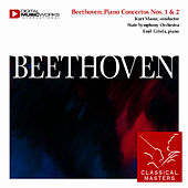 Beethoven: Piano Concertos Nos. 1 & 2 by Emil Gilels