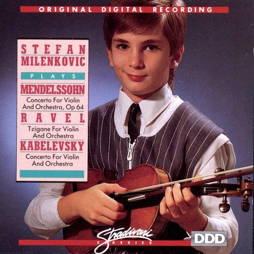 Stefan Milenlovic Plays Mendelssohn, Ravel, Kabelevsky by Stefen Milenkovic