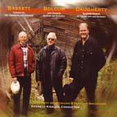 Concertos: Bassett, Bolcom, Daugherty by University of Michigan Symphony Orchestra