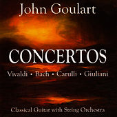 Concertos (music for guitar and string orchestra) by John Goulart