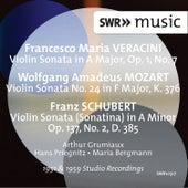 Veracini, Mozart & Schubert: Violin Sonatas by Arthur Grumiaux