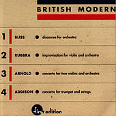 Bliss, Rubbra, Arnold, Addison: British Modern vol. 1 by Louisville Orchestra