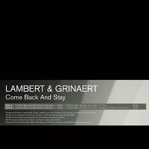 Come Back And Stay by Lambert