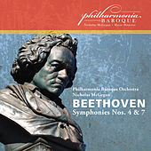 Beethoven: Symphonies Nos. 4 & 7 (Live) by Philharmonia Baroque Orchestra
