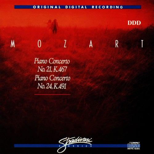 Piano Concerto 21, K 467, Piano Concerto No 24, K 491 by Dubravka Tomsic