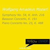 Yellow Edition - Mozart: Symphony No. 54, K. Anh. 216 & Piano Concerto No. 23, K. 488 by Various Artists