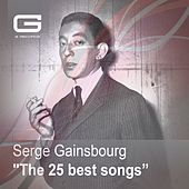 The 25 Best Songs von Serge Gainsbourg