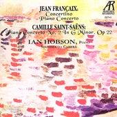 Jean Francaix & Camille Saint-Saens by Ian Hobson