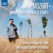 Mozart: Violin Concertos Nos. 3, 4 & 5 by Henning Kraggerud