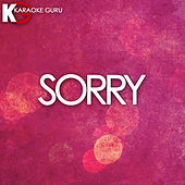 Sorry (Originally Performed by Beyonce) [Karaoke Version] - Single by Cover Guru