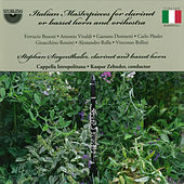 Italian Masterpieces for Clarinet or Basset Horn and Orchestra by Cappella Istropolitana