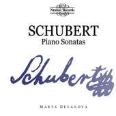 Schubert: Piano Sonatas by Marta Deyanova