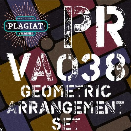 Geometric Arrangement Set by Jon Rich