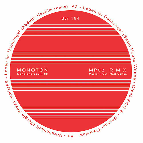 Mp02 R M X - Ep by Monoton