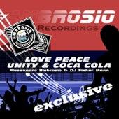 Love Peace Unity & Coca Cola by Alessandro Ambrosio