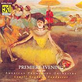 AMERICAN PROMENADE ORCHESTRA: Premiere Evening by Various Artists