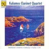 KALAMOS CLARINET QUARTET: Works for Clarinet Quartet by Kalamos Clarinet Quartet