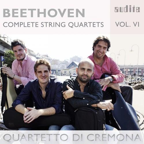 Beethoven: Complete String Quartets, Vol. 6 by Quartetto di Cremona