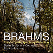 Brahms: The Complete Symphony Collection by Berlin Symphony Orchestra