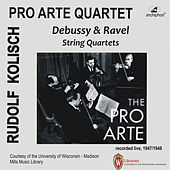 Debussy & Ravel: String Quartets (Recorded Live 1947-1948) by Various Artists